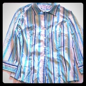George stretch size extra large 3/4 length top